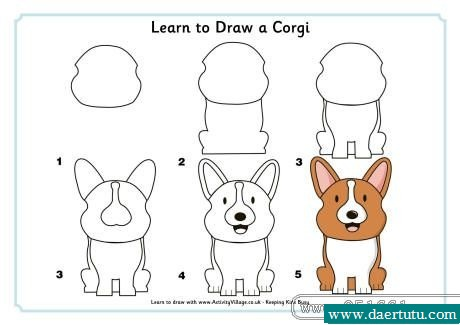 how to draw adog man
